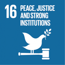 16 Peace, Justice, and Strong Institutions