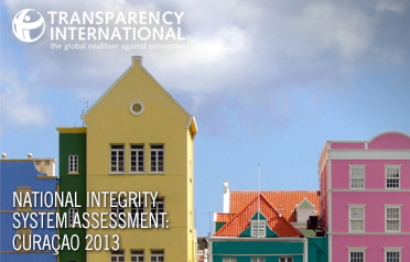 Transparency International 2013 NIS Curaçao
